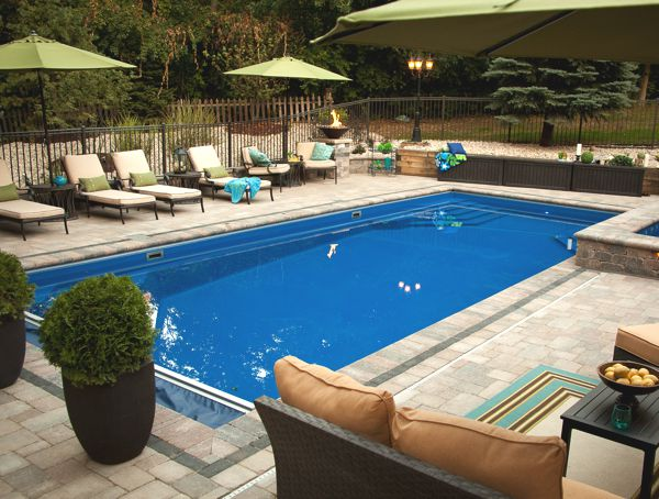 Pools4ever rectangle pools pools4ever Square swimming pools for sale